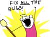karzilla: FIX ALL THE BUGS! (fixall)