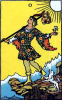 tarot: (waite fool)