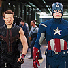 wenelda: (Avengers - Cap and Hawkeye)