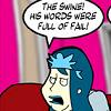 wenelda: (SomethingPositive - fail)