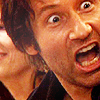 tibia_mod: David Duchovny as Hank Moody with a surprised expression. (Moody Freakout)