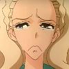 mikogalatea: Nanami from Revolutionary Girl Utena, starting to cry. ([Utena] Nanami; *wibble*)