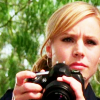 lab: An image of Veronica Mars with a camera (veronica mars: investigate)