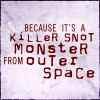 scarimonious: BtVS - Giles is on top of the situation (Giles - snot monster)