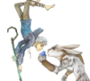 azurewatabi: (E. Aster Bunnymund, Jack Frost, Rise of the Guardians)