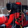 theshortestbird: (red robin motorbike)