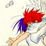 kitefullofkoi: Daisuke tackling Dark in a hug (dnangel: hugz)
