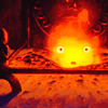 kitefullofkoi: picture of Calcifer from Howl's Moving Castle with an amazed look (howl: calcifer)