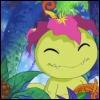 torachan: palmon smiling (palmon)