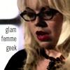 """piglet: side shot closeup of Penelope Garcia, """"glam femme geek"""" (Criminal minds)"""