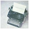 dauphinette: (stock - typewriter)