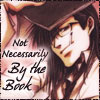 Tenpou from Saiyuki Gaiden with the words, Not Necessarily by the Book