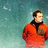 lou: rodney in his orange fleece (SGA Rodney fleece)