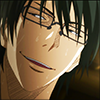 annotated_em: Screencap from KnB: Imayoshi looking satisfied. (Imayoshi - all according to plan)