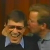 rike_tikki_tavi: Bill Shatner kissing Leonard Nimoy on the ear (K/S kissy face)