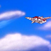 swordage: Skyfire flying. (tf fire in the sky)