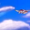 swordage: Skyfire flying. (tf fire in the sky)