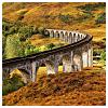 lizcommotion: railway bridge going through the countryside (train)