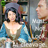 campylobacter: Must. Not. Look. At cleavage. (cleavage)