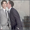 pocketmouse: Peter Burke kissing Neal (nealpeter)