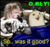 saciel: The Goblin King asking the owl hes in bed with if it was good - ORLY (orly)