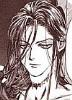 saciel: Raziel/Zadkiel from Angel Sanctuary with throat scar (Raziel)