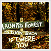 spicychilies: (Haunted forest)