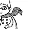 saltysoil: glasses and scarf man (Sweden)