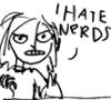 angelsaves: (hate nerds)