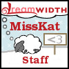 misskat: Dreamsheep, with MissKat on top, and Staff on the bottom. (Dreamwidth Staff)