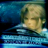 electric_butterfly: sometimes I drive so I can be alone (squall driving)