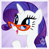 allofapiece: (MLP: Rarity glasses)