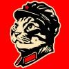 kotrun: кот коммунист Мао номер один (Красный Кот)