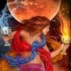 ilakubala: Temperance from the Gilded Tarot (Temperance)
