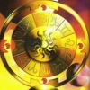 ilakubala: The Wheel of Fortune from the Gilded Tarot (The Wheel of Fortune)