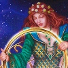 ilakubala: The Empress from the Gilded Tarot (Empress) (Default)