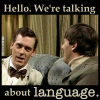 selesen: (hello. we're talking about LANGUAGE)