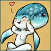 stealth_noodle: Ocarina of Time's Ruto lets out a little heart. (ruto <3)