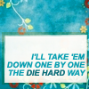 phnelt: i'll take 'em down one by one the die hard way (farscape die hard)