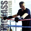 highlander_ii: Harvey Specter in boxing gloves leaning on the ring ropes with text 'kick ass lawyer' ([Harvey] kickass lawyer)