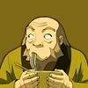 cofax7: Iroh eating noodles (ATLA - Iroh)