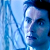etherati: Blue-tinted tenth doctor (DW - ten blue)