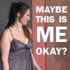 chanaleh: MAYBE THIS IS ME, OKAY? (Spike Heels this is me)