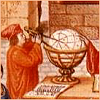 kindkit: Medieval image of a mapmaker constructing a globe (Fandomless: Mapmaker)