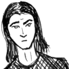 auto_destruct: drawing of a man with shoulder-length hair looking dubious (o___O)