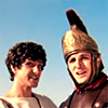aestivali: Mark Antony and Julius Caesar from Horrible Histories (hh ► mark + julius)