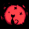 rheasilvia: (Cat in red moon)