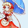 shanaqui: Polka from Eternal Sonata, with her umbrella. ((Polka) Cute)