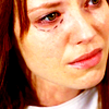 wishfulclicking: Olivia from Fringe with red hair and marks on her eyes (fringe: olivia locked up)