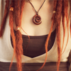 ofearthandstars: Red/hennaed dreadlocks (red natural)